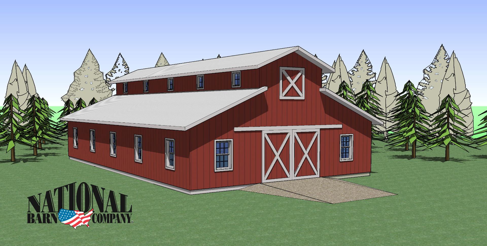 Pole Barn Builders, National Barn Company, Color Options